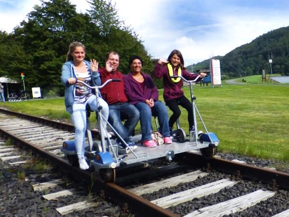 Draisine Fahren Touristik Service Waldeck Ederbergland Gmbh