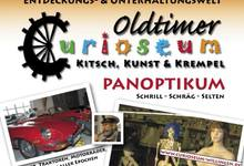 Plakat des Curioseums in Willingen