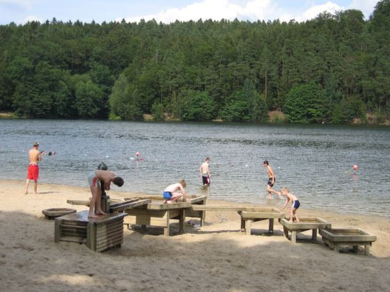 Das Strandbad am Twistesee in Bad Arolsen-Wetterburg