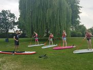 Der Stand Up Paddling Club Paderborn gibt am Edersee auch Kurse (Foto: Stand Up Paddling Club Paderborn)