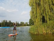 Stand Up Paddling am Diemelsee (Foto: Stand Up Paddling Club Paderborn)