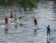 Stand Up Paddling ist leidht zu erlernen (Foto: Stand Up Paddling Club Paderborn)