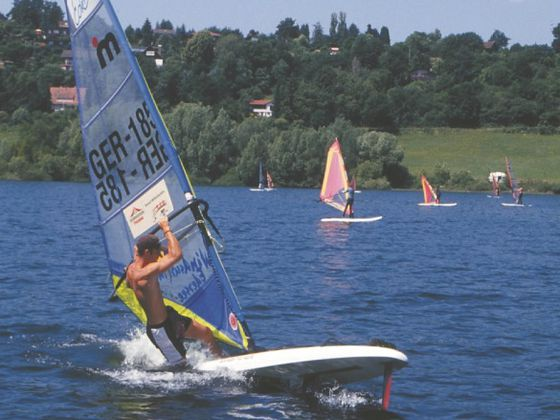 Windsurfing am Edersee