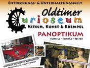 Das Plakat des Museums Curioseum in Willingen